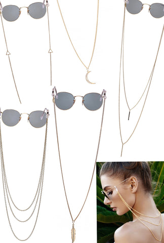 Sunglass Chains -  GIFT PACK (5)