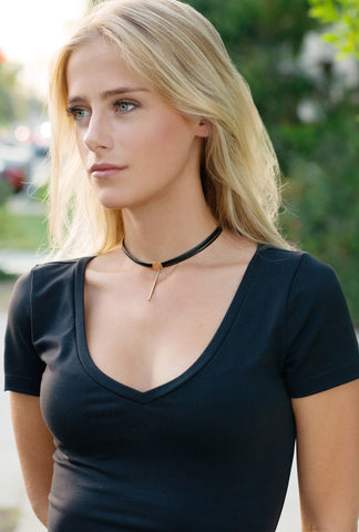 Laced Barre Choker
