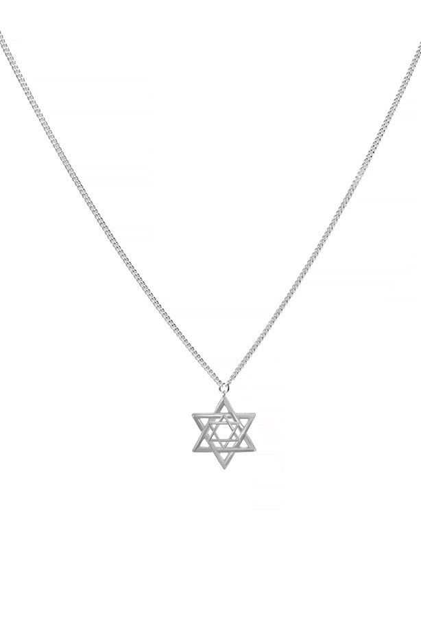 Star of David Backlace