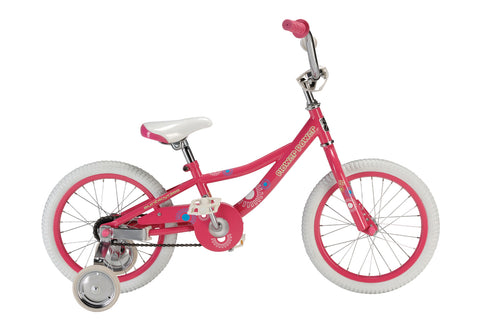 "Sun Bicycles Flower Power 16"" Fits 4-5 years old or 3'7″-4'0″"