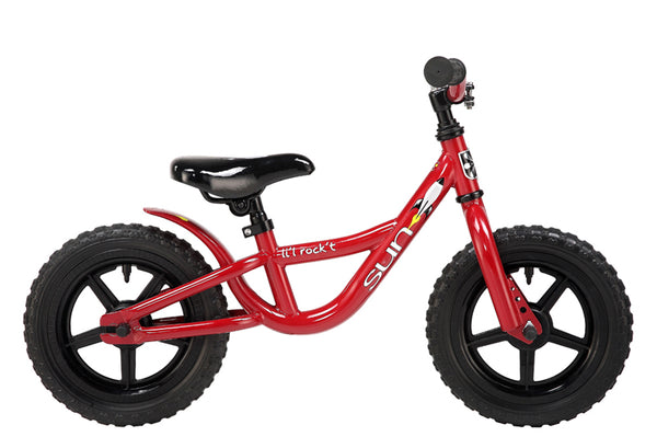 "Sun Bicycles Balance Bike Lil Rockt 12"" Fits 2-3 years old or 2'10-3'4"""