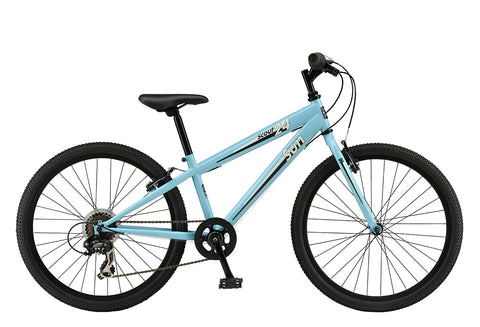 "Sun Bicycles Scout 7 speed 24"" Fits 8-12 years old or 4'5""-4'9"""