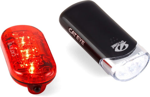 Light Combo CATEYE HL-EL135 Front  & Omni 3 Rear