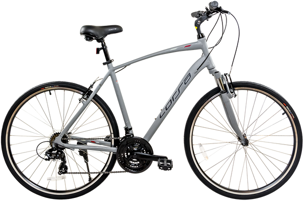 Corsa ZH300 Upright Hybrid Sport/Commuter With Shock