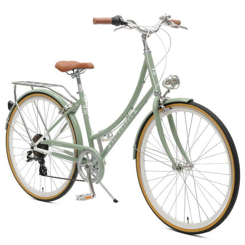 RETROSPEC VENUS-7 STEP-THRU SEVEN-SPEED CITY BIKE