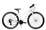 ZF BIKES TRANSIT Fitness/Commuter Hybrid Step Through