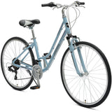 Critical Barron 21-Speed Step-Thru Frame Hybrid Bike