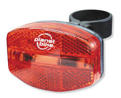 Planet Bike Grateful Red Rear Bike Light