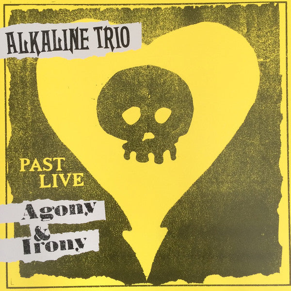ALKALINE TRIO - AGONY & IRONY PAST LIVE LP