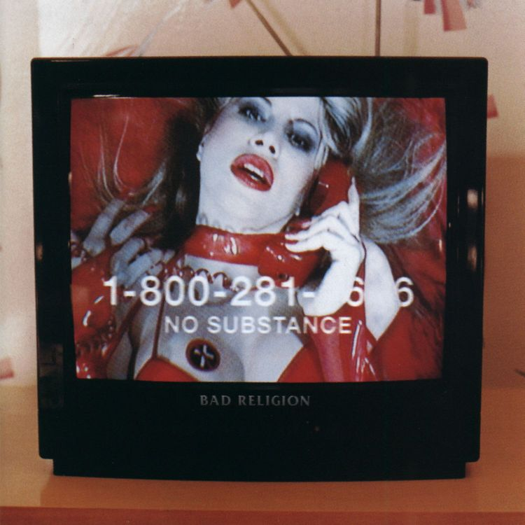BAD RELIGION - NO SUBSTANCE LP