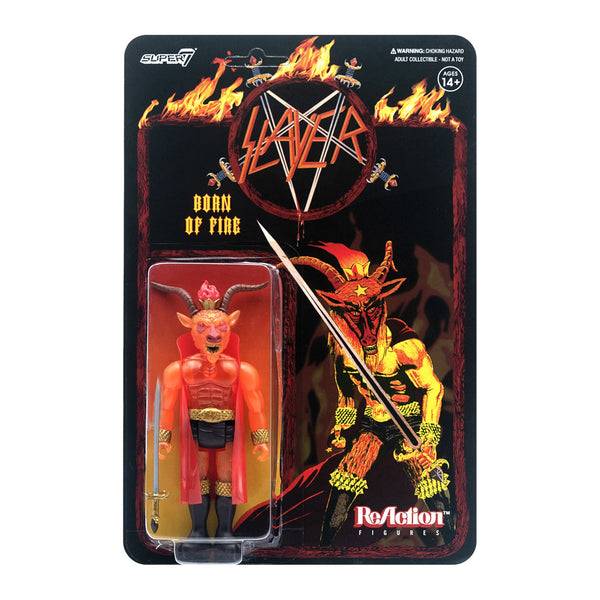 "SLAYER"" BORN OF FIRE"" ACTION FIGURE"