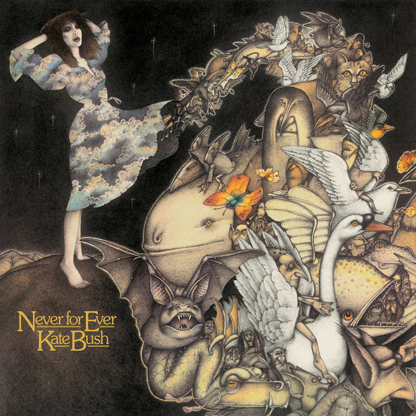 BUSH, KATE - NEVER FOR EVER LP