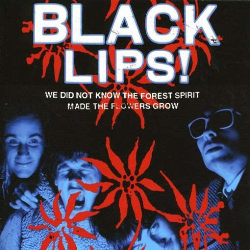 BLACK LIPS - WE DID NOT KNOW THE FOREST SPIRIT MADE THE FLOWERS GROW LP