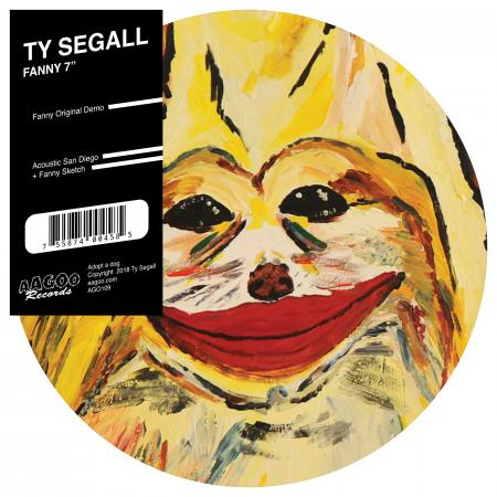 "SEGALL, TY - FANNY 7"" PICTURE DISC"