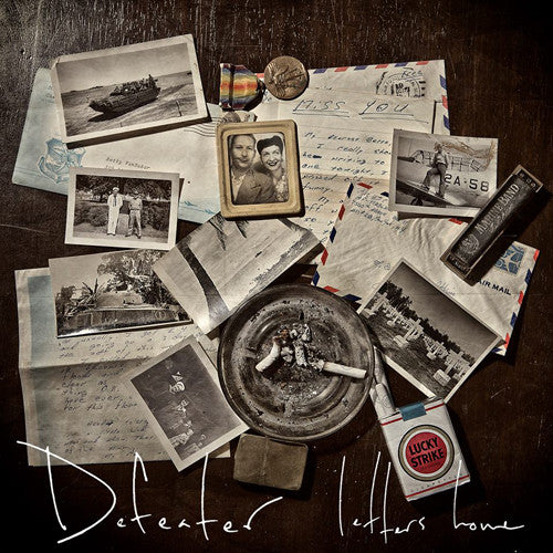 DEFEATER - LETTERS HOME LP