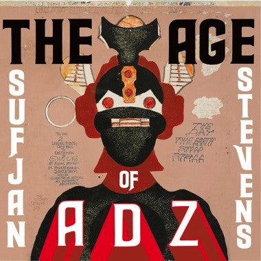 STEVENS, SUFJAN - THE AGE OF ADZ 2XLP