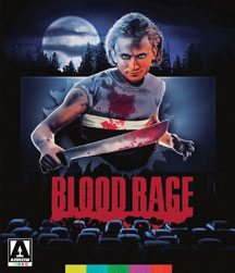 BLOOD RAGE BLU-RAY