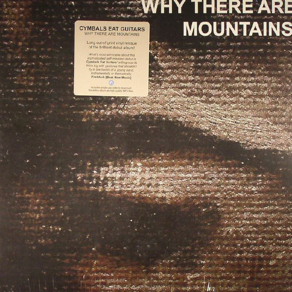 CYMBALS EAT GUITARS - WHY THERE ARE MOUNTAINS LP