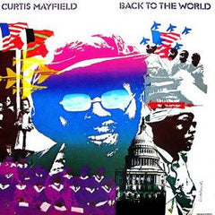 MAYFIELD, CURTIS - BACK TO THE WORLD LP