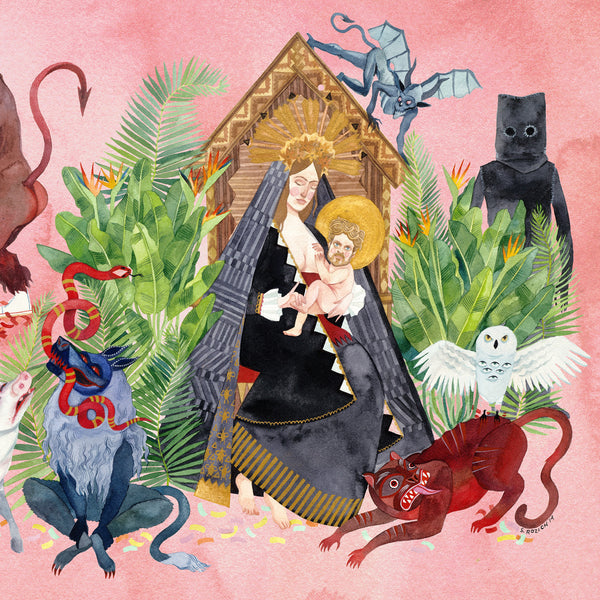 FATHER JOHN MISTY - I LOVE YOU HONEYBEAR 2XLP
