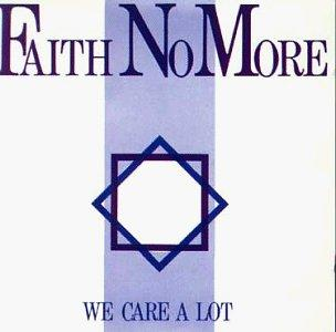FAITH NO MORE - WE CARE A LOT LP