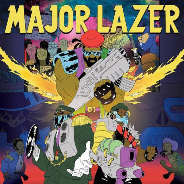 MAJOR LAZER - FREE THE UNIVERSE 2XLP