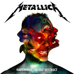 METALLICA - HARDWIRED... TO SELF DESTRUCT 2XLP