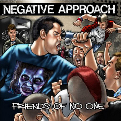 NEGATIVE APPROACH - FRIENDS OF NO ONE 7""