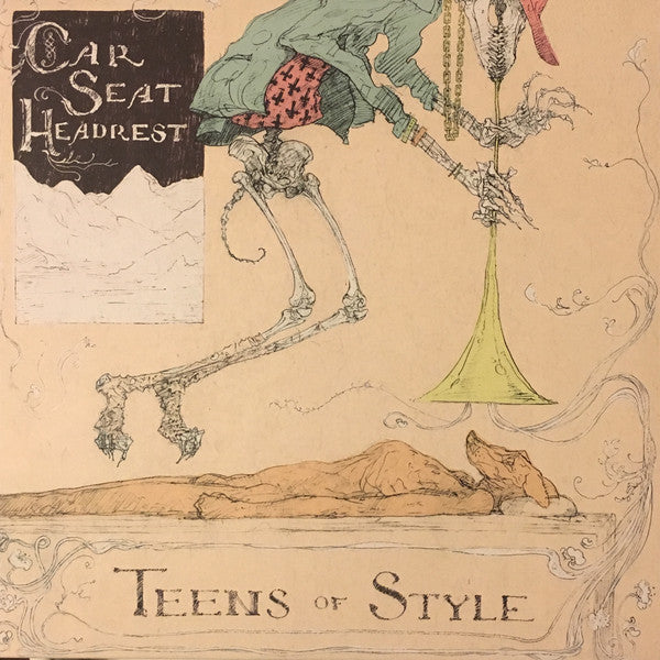 CAR SEAT HEADREST - TEENS OF STYLE LP