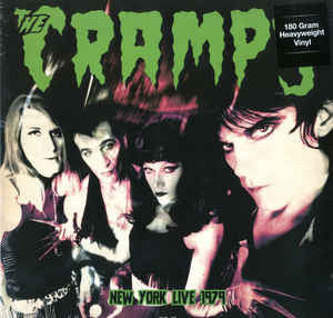 CRAMPS, THE - NEW YORK CITY LIVE 1979