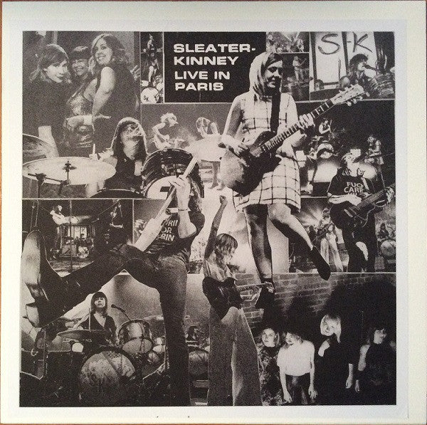SLEATER KINNEY - LIVE IN PARIS LP