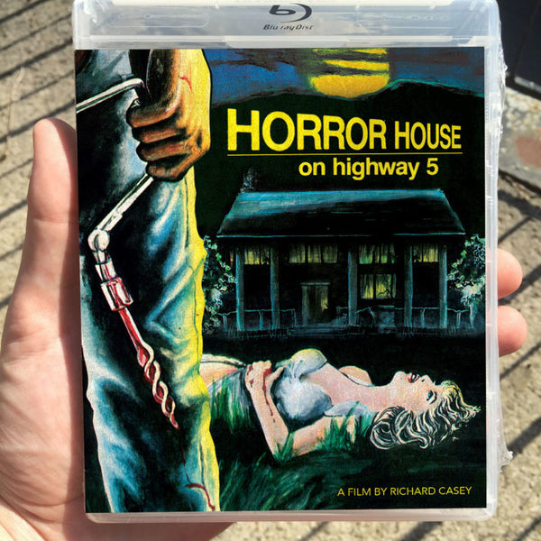 HORROR HOUSE ON HIGHWAY 5 BLU-RAY