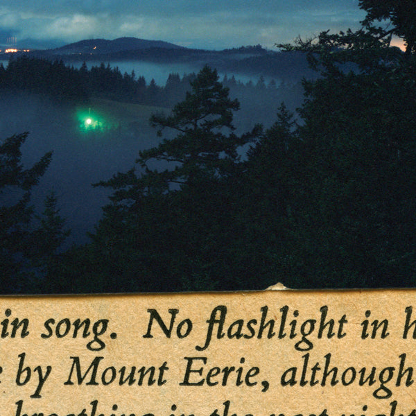 MOUNT EERIE - NO FLASHLIGHT LP