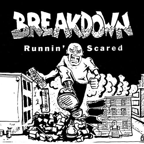 BREAKDOWN - RUNNIN SCARED LP