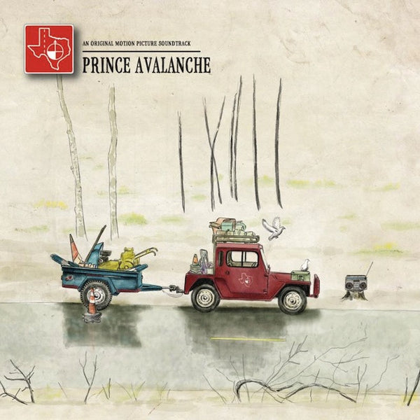 EXPLOSIONS IN THE SKY & DAVID WINGO - PRINCE AVALANCHE LP