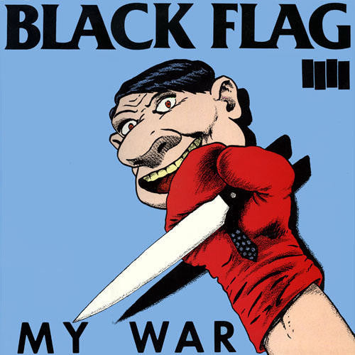 BLACK FLAG - MY WAR LP