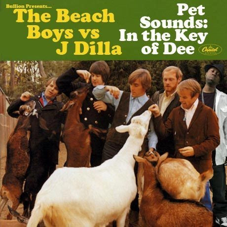 BEACH BOYS, THE & J DILLA - PET SOUNDS IN THE KEY OF DEE LP