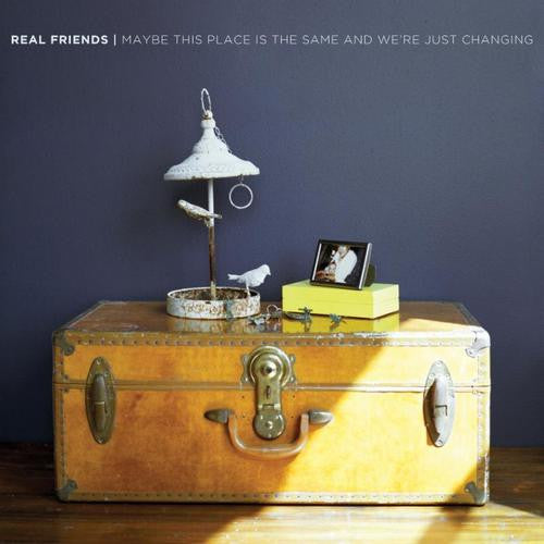 REAL FRIENDS - MAYBE THIS PLACE IS THE SAME AND WE'RE JUST CHANGING LP