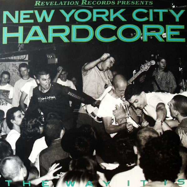 V/A - NEW YORK CITY HARDCORE: THE WAY IT IS LP