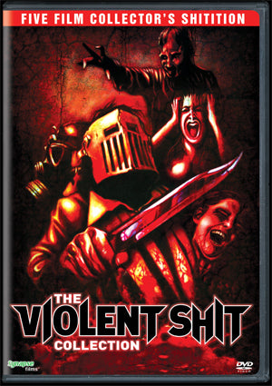 VIOLENT SHIT COLLECTION, THE - FIVE FILM SPECIAL SHITITION 3XDVD