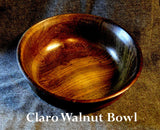 Bowl of Claro Walnut