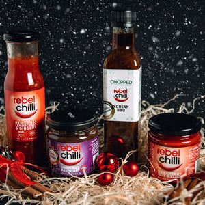 Stocking Filler! Chilli Sauce - Hot Sauce - Chilli Jam - Christmas Gift