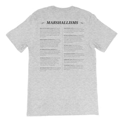 Marshallisms  Unisex Short Sleeve T-Shirt