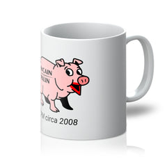 Throwback: lipstick on a pig Mug
