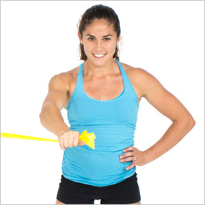 One Arm Chest Fly With Flat Resistance Bands
