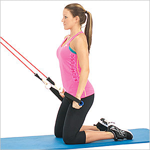 Kneeling Straight Arm Lat Extension