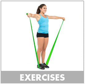Flat Resistance Bands Exercises by Bodylastics