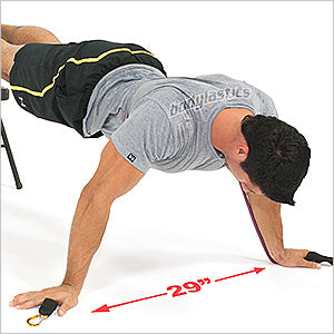 Decline Wide Fly Push Up