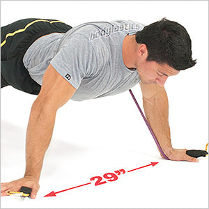 Resisted Wide Fly Push Up