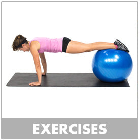 Exercise Stability Ball Exercises
